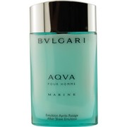 Men - BVLGARI AQUA MARINE AFTERSHAVE EMULSION 3.4 OZ (GLASS BOTTLE)