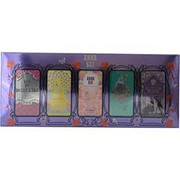 Women - ANNA SUI VARIETY 5 PIECE MINI VARIETY WITH DOLLY GIRL & FLIGHT OF FANCY & FAIRY DANCE & SECRET WISH & FORBIDDEN AFFAIR AND ALL ARE .13 OZ MINIS