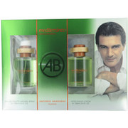 Men - MEDITERRANEO EDT SPRAY 3.4 OZ & AFTERSHAVE 3.4 OZ