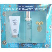 Women - WHITE DIAMONDS SPARKLING EDT SPRAY 1.7 OZ & BODY LOTION 1.7 OZ & WHITE DIAMONDS PARFUM .12 OZ MINI