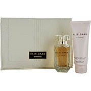 Women - ELIE SAAB LE PARFUM EAU DE PARFUM SPRAY 1.6 OZ & BODY LOTION 2.5 OZ & POUCH
