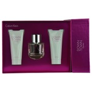 Women - DOWNTOWN CALVIN KLEIN EAU DE PARFUM SPRAY 3 OZ & BODY LOTION 3.4 OZ & SHOWER GEL 3.4 OZ