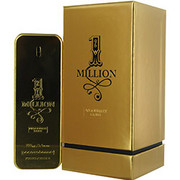 Men - PACO RABANNE 1 MILLION ABSOLUTELY GOLD PURE PARFUM SPRAY 3.3 OZ