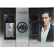 Men - THE SECRET EDT SPRAY 3.4 OZ & AFTERSHAVE 3.4 OZ