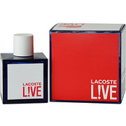 Men - LACOSTE LIVE EDT SPRAY 3.4 OZ