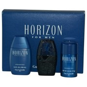 Men - HORIZON EDT SPRAY 1.7 OZ & AFTERSHAVE BALM 3.4 OZ & DEODORANT STICK 2.5 OZ