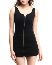 Fashion Lab - Delilah Knitted Dress w/ zipper front