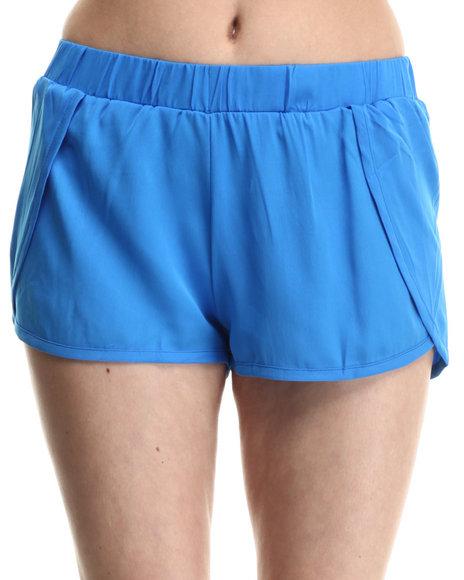 Ur-ID 214195 ALI & KRIS - Women Blue Sweet & Sexy Chiffon Shorts