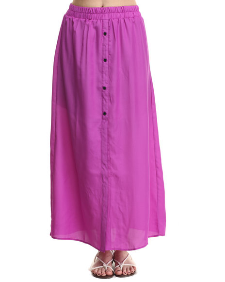 ALI & KRIS - Women Purple Favorite Maxi Skirt