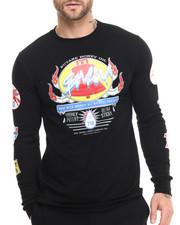 T-Shirts - S M W Petrol L/S Tee