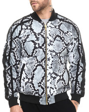 Outerwear - Snake King Print Jacket