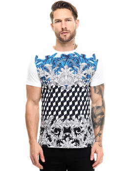 Men - VJ Cubist Filigree Tee