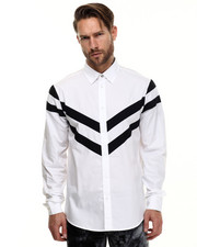 Men - Contrast Popline Shirt
