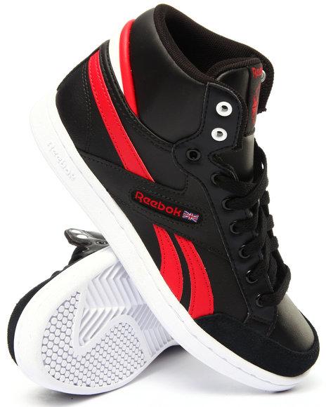 Reebok - Boys Black Classic Arena Pro Mid Sneakers (3.5-7)