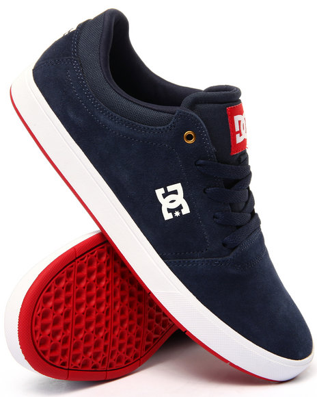 Dc Shoes - Men Navy Crisis Suede