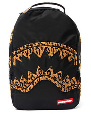 Men - Leopard Chenille Shark backpack