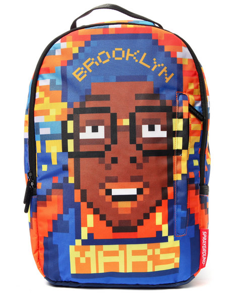 Sprayground Men Pixel Spike Backpack Multi