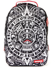 Accessories - Mayan Calender White Backpack
