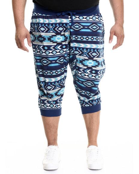 Akademiks - Men Blue Hartland Jogger Shorts (B&T)