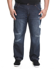 Akademiks - Cohoes Washed Denim Pants (B&T)