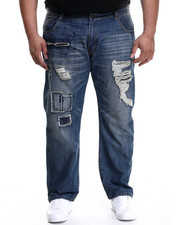 Akademiks - Pitkin Washed Denim Jeans (B&T)
