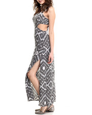 Women - Cut-Out High-Cut Maxi Dress