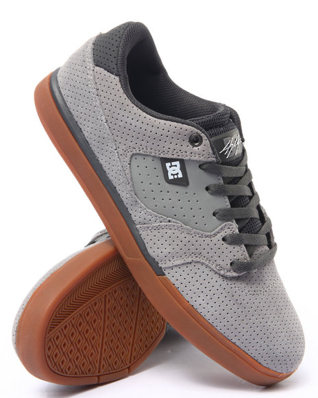 Ur-ID 214244 DC Shoes - Men Grey Cole Lite Sneakers