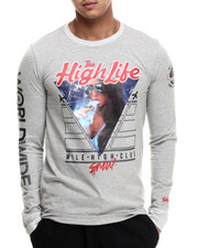 S - M - W - High Life L/S Tee