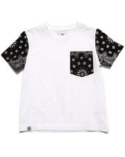 Tops - BANDANA POCKET TEE (4-7)