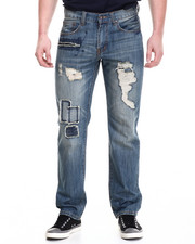Jeans - Pitkin Washed Denim Jeans