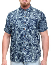 Akademiks - Festival Paisley s/s button down shirt