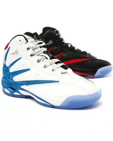 Reebok - Boys Black,White The Blast Sneakers (3.5-7)