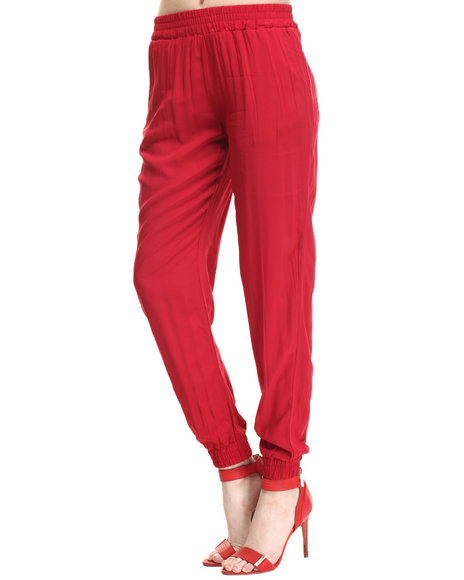 Freestyle - Women Red Monroe Jogger
