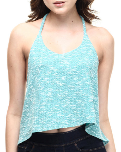 Teal Tanks, Tubes & Camis