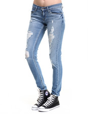 Bottoms - 524 Skinny Ultra Low Rise Jean