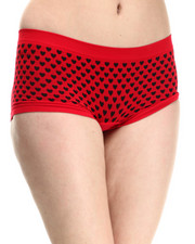 Women - Hearts Seamless Boy Short