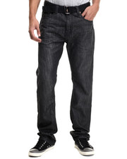 Jeans - Wake Back - Pocket Belted Denim Jeans