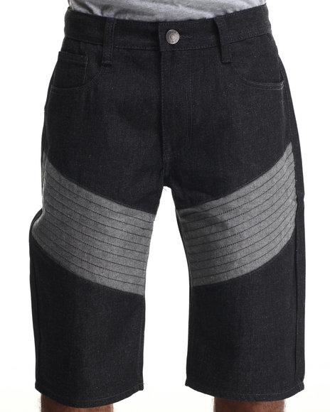 Basic Essentials Raw Wash Shorts