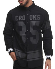 Crooks & Castles - Ravager L/S Button-Down