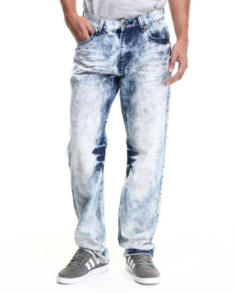 Ur-ID 214418 Monarchy - Men Light Wash Monarchy Cloud Wash Denim Jeans