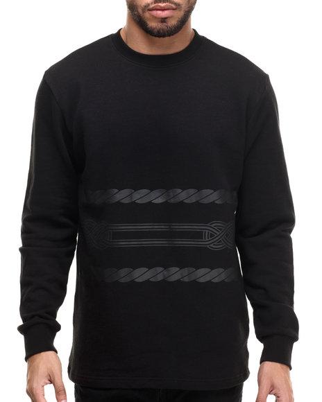 Ur-ID 214406 Crooks & Castles - Men Black Kodama Sweatshirt