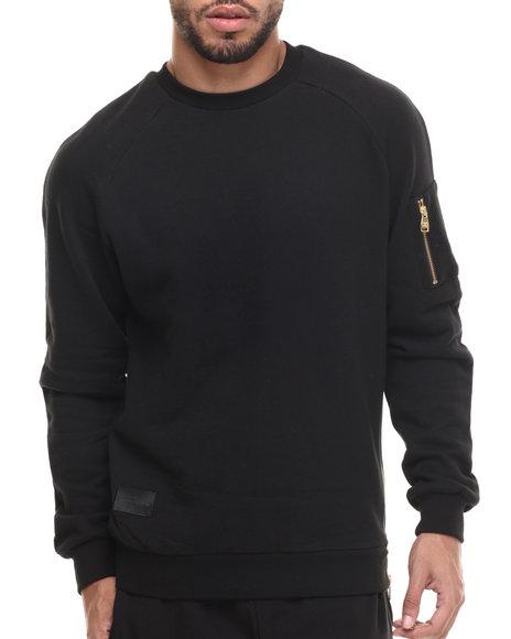 Ur-ID 214425 Crooks & Castles - Men Black Ransack Sweatshirt