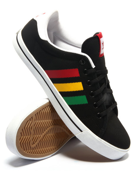 Adidas - Men Black Adicourt Stripes