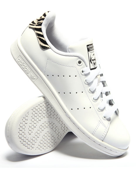 Adidas - Women White Stan Smith Zebra