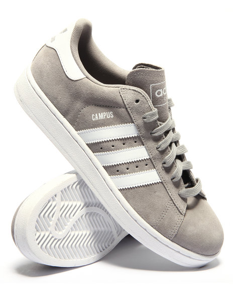Adidas - Men Grey Campus I I Suede