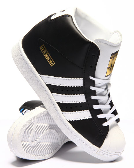 Ur-ID 223010 Adidas - Women Black Superstar Up Sneakers