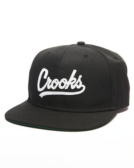 Crooks & Castles Men Crooks League Snapback Black