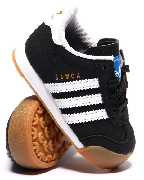 Adidas - Boys Black Samoa Inf Sneakers (Infant)