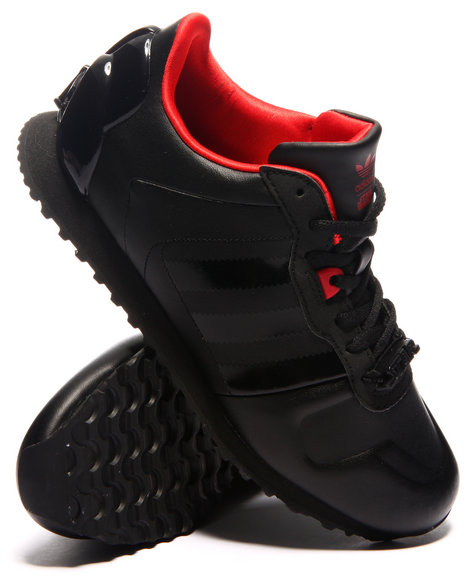 Adidas - Boys Black Zx 700 Darth Vader K Sneakers (3.5-7)