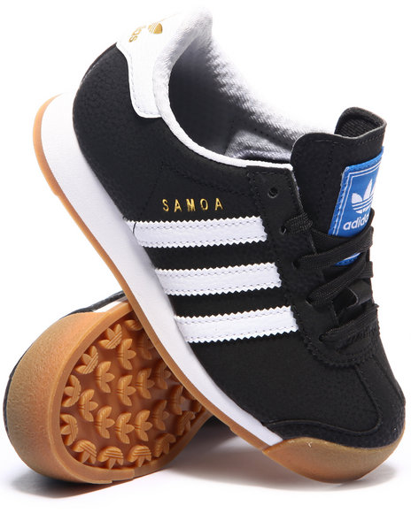 Adidas - Boys Black Samoa C Sneakers (11-3)